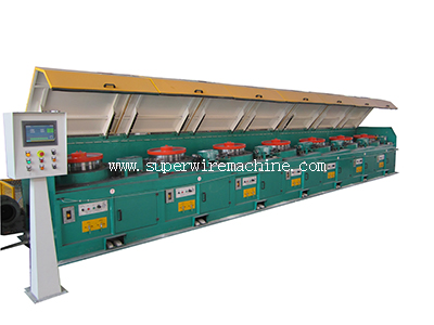 Our wire drawing machine suitable for copper wire drawing