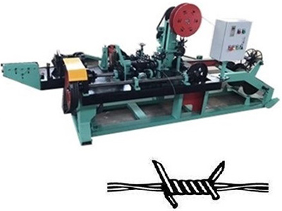 Brief Introduction of Barbed Wire Making Machine