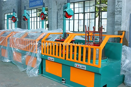 wire rod drawing machine