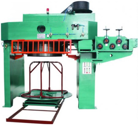 Rod drawing machine
