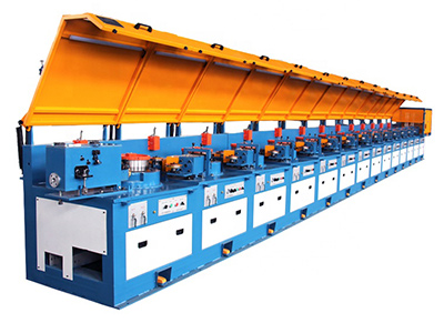 Wire drawing plant